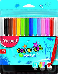 ROTULADORES MAPED COLOR'PEPS OCEAN 12