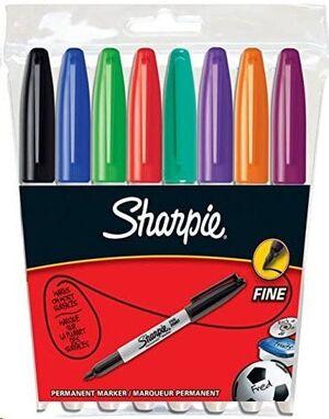 SET SHARPIE FINE 8 COLORES