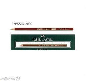 LAPIZ FABER CASTELL DESSIN 2000 HB