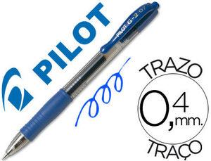 BOLIGRAFO PILOT G-2 AZUL TINTA GEL -RETRACTIL .