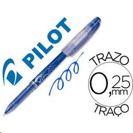 BOLIGRAFO PILOT FRIXION POINT AZUL 0.5