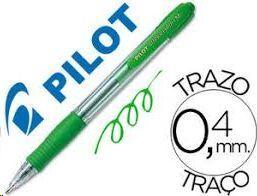 BOLIGRAFO PILOT SUPER GRIP M VERDE