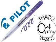 BOLIGRAFO PILOT SUPER GRIP M LILA
