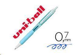 BOLIGRAFO UNIBALL JETSTREAM 0.7MM AZUL CLARO RETRACTIL
