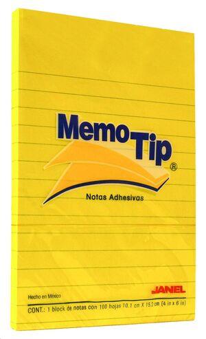 NOTAS ADHESIVAS GRAFOPLAS MEMOTIP 101X152