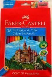 LAPICES FABER CASTELL 36 COLORES + SACAPUNTAS