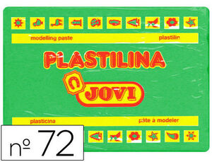PLASTILINA JOVI 350G VERDE CLARO