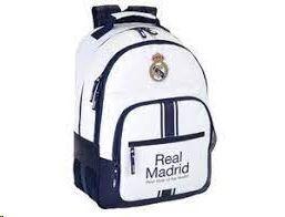MOCHILA OFICIAL REAL MADRID GRANDE SAFTA
