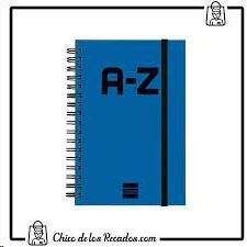 INDICE A-Z A5 AZUL