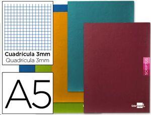 CUADERNO LIDERPAPEL SCRIPTUS A5+ 3MM CUADRICULADO