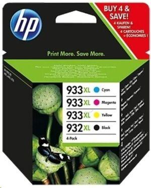 CARTUCHO HP PACK C2P42AE 932 XL +933XL BK/C/M/Y