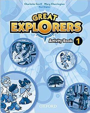 GREAT EXPLORERS ACTIVITY BOOK 1