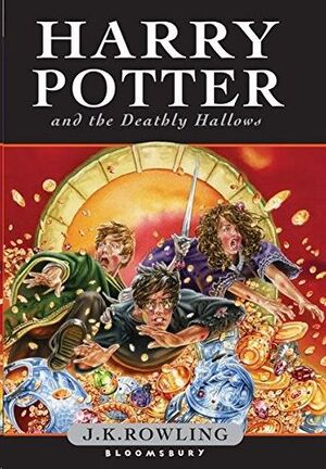 HARRY POTTER AND THE DEATHLY HALLOWS.