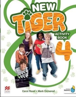NEW TIGER ACTIVITY BOOK 4º PRIMARY