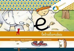 LETRILANDIA 1 PAUTA 09 ESPIRAL EDELEN09EI
