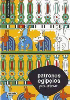 PATRONES EGIPCIOS P/COLOREAR