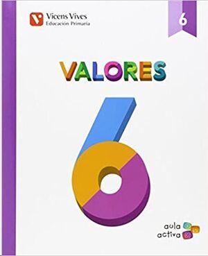 AULA ACTIVA, VALORES, 6 EDUCACIÓN PRIMARIA