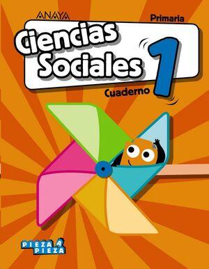 CIENCIAS SOCIALES, 1º PRIMARIA, CUADERNO