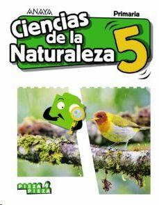 CIENCIAS DE LA NATURALEZA, 5 PRIMARIA, LIBRO DEL ALUMNO