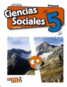 CIENCIAS SOCIALES, 5º PRIMARIA, LIBRO DEL ALUMNO