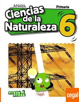 CIENCIAS DE LA NATURALEZA, 6 EDUCACIÓN PRIMARIA, LIBRO DEL ALUMNO