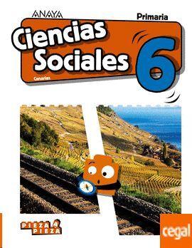 CIENCIAS SOCIALES, 6 EDUCACIÓN PRIMARIA, LIBRO DEL ALUMNO