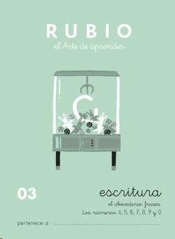 ESCRITURA RUBIO, N. 03