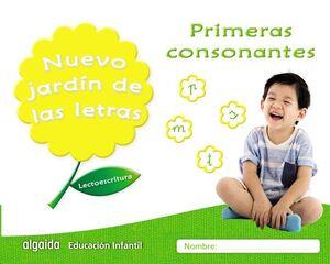 NUEVO JARDÍN DE LAS LETRAS, PRIMERAS CONSONANTES, EDUCACIÓN INFANTIL, 4 AÑOS : CUADERNO DEL ALUMNO:
